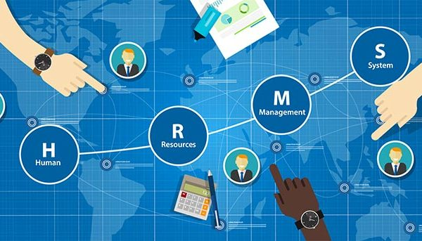 human resources management system graphic