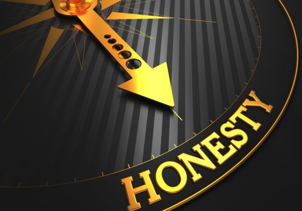 honesty concept